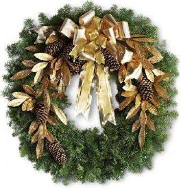 Glitter & Gold Wreath